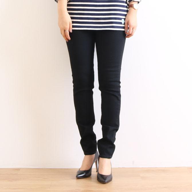 ANTGAUGE アントゲージ Olivia BOYS SLIM FIT PANTS オリビア ボーイズスリムフィットパンツ C1711-24 ブラック(24)