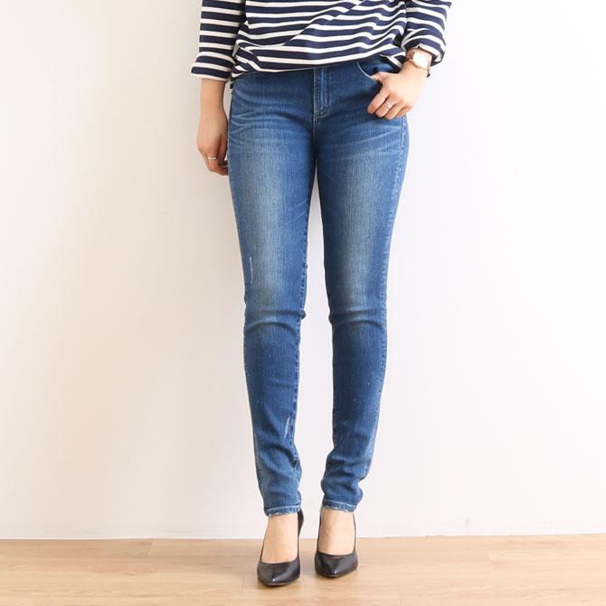 【今だけ10%OFF】ANTGAUGE アントゲージ Olivia BOYS SLIM FIT PANTS オリビア ボーイズスリムフィットパンツ C1711-36 ユーズド(36)
