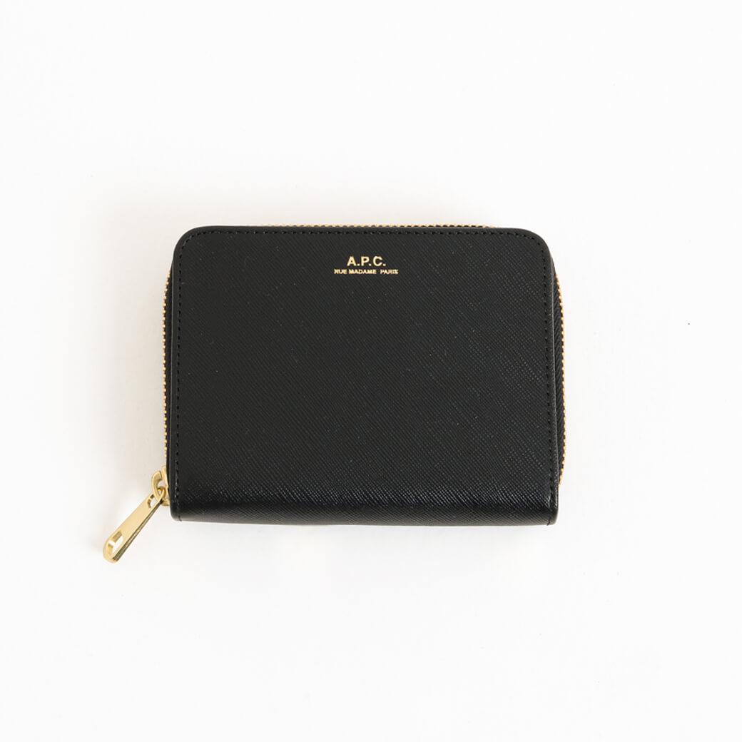 【今だけ10%OFF】A.P.C. アーペーセー Emmanuelle compact Wallet emboss
