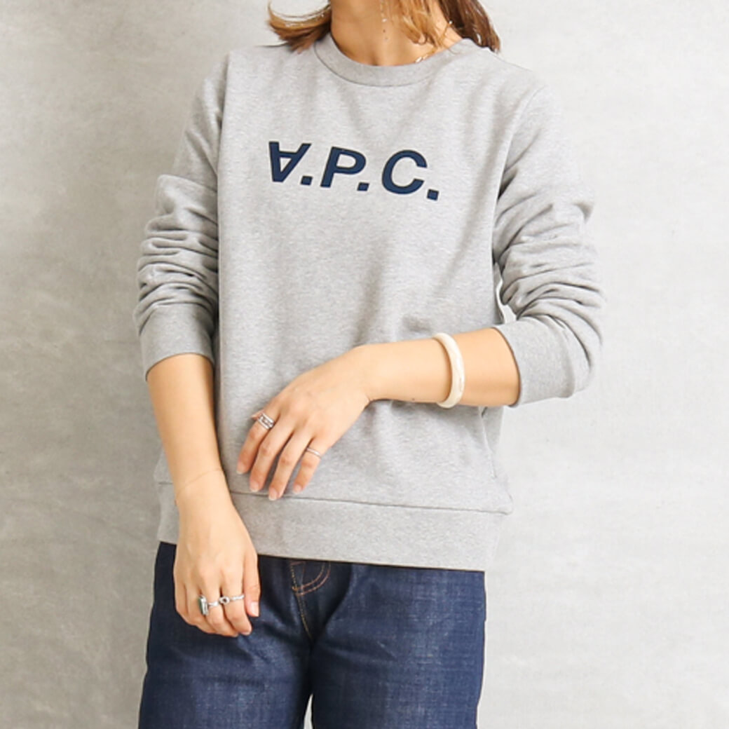 【今だけ10%OFF】A.P.C. アーペーセー Vivaスウェットシャツ