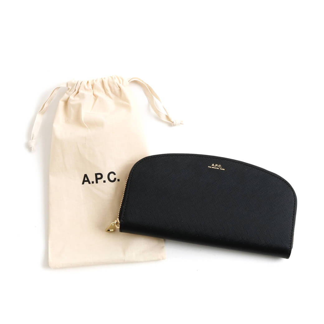 A.P.C. アーペーセー PORTEFEUILLE Demi-Lune ウォレット