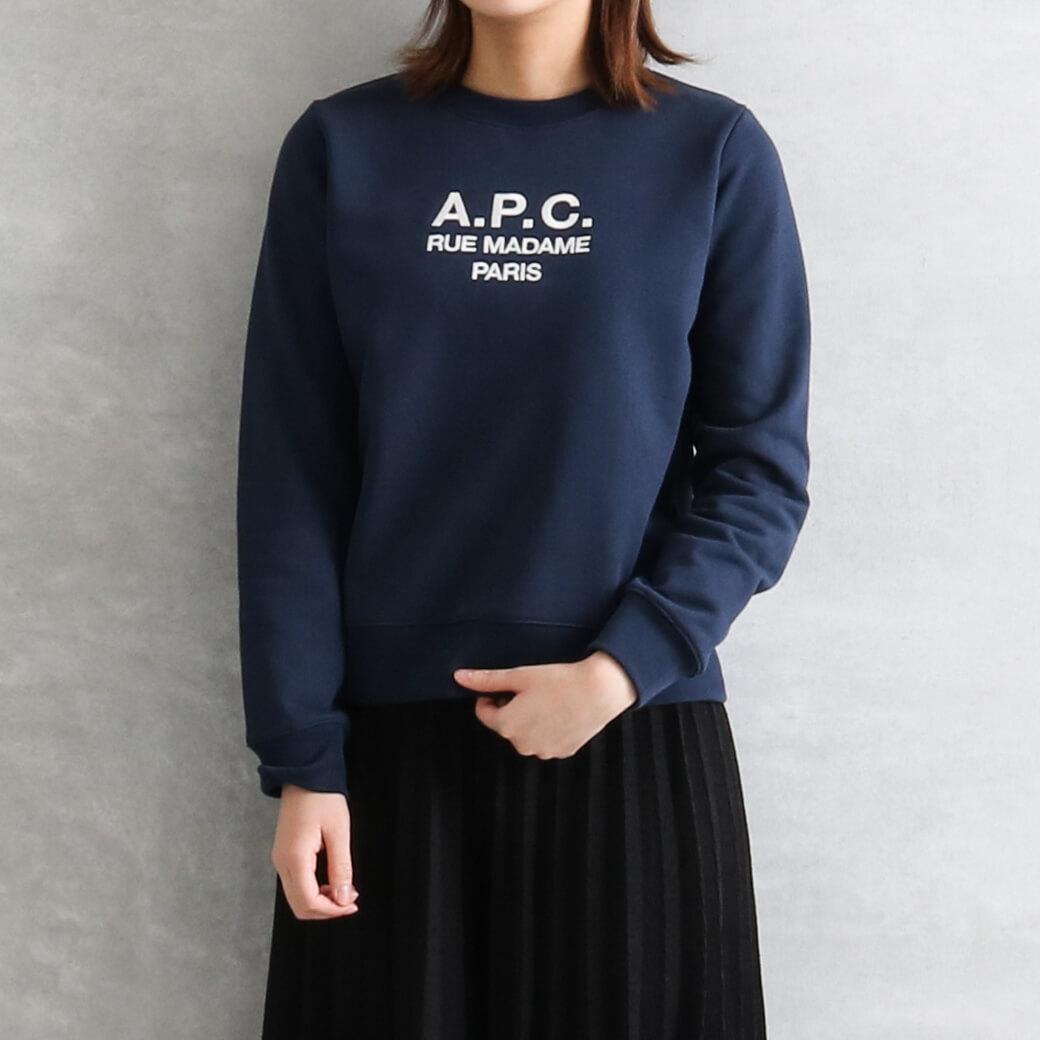 A.P.C. アーペーセー Tina スウェットシャツ RUE MADAME PARIS