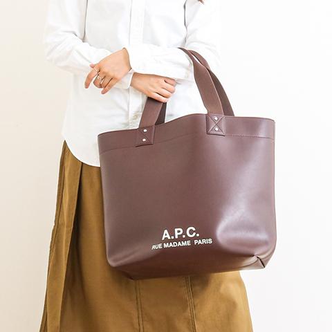 【今だけ10%OFF】A.P.C. アーペーセー Eddy Shopping Bag エディ・ショッピングバッグ 24192102069 ユニセックス