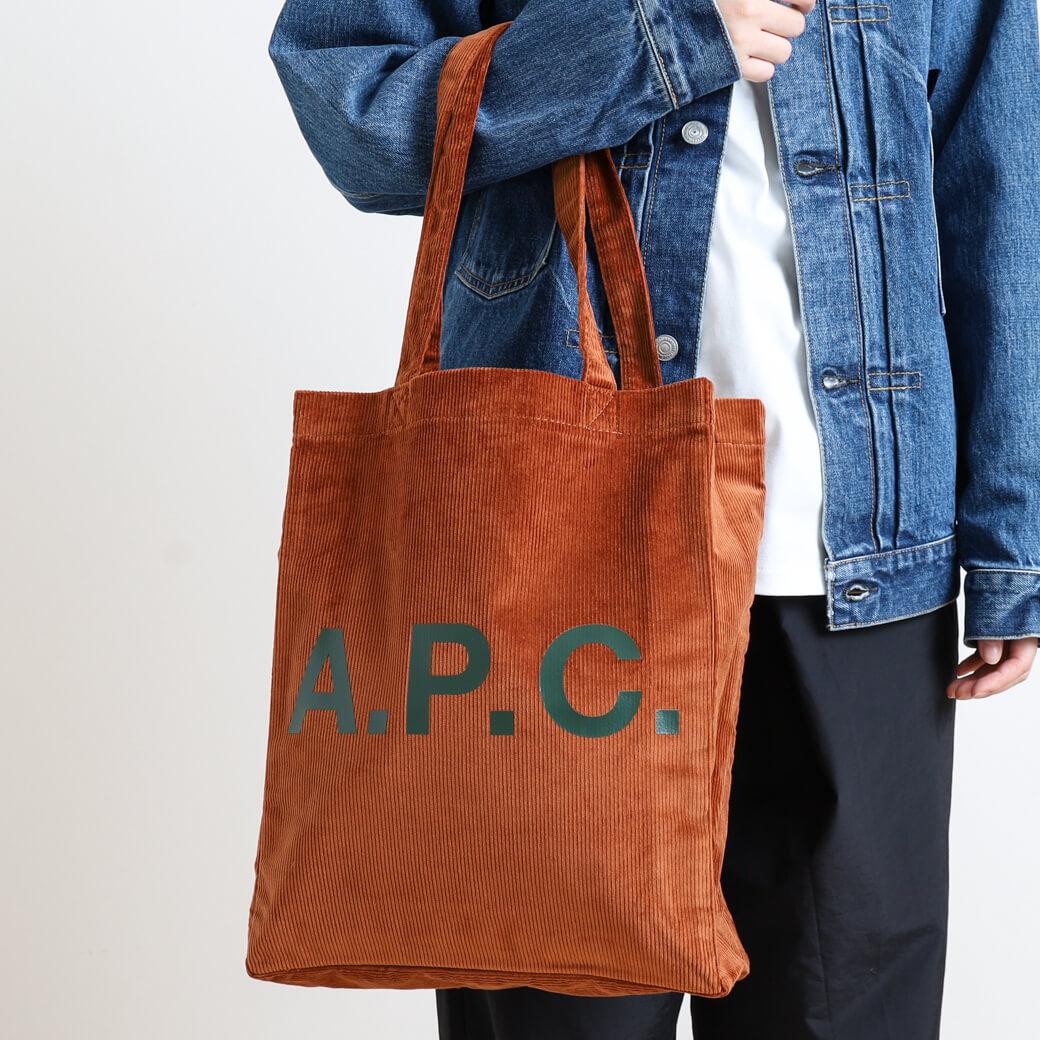 【今だけ10%OFF】A.P.C. アーペーセー Lou トートバッグ