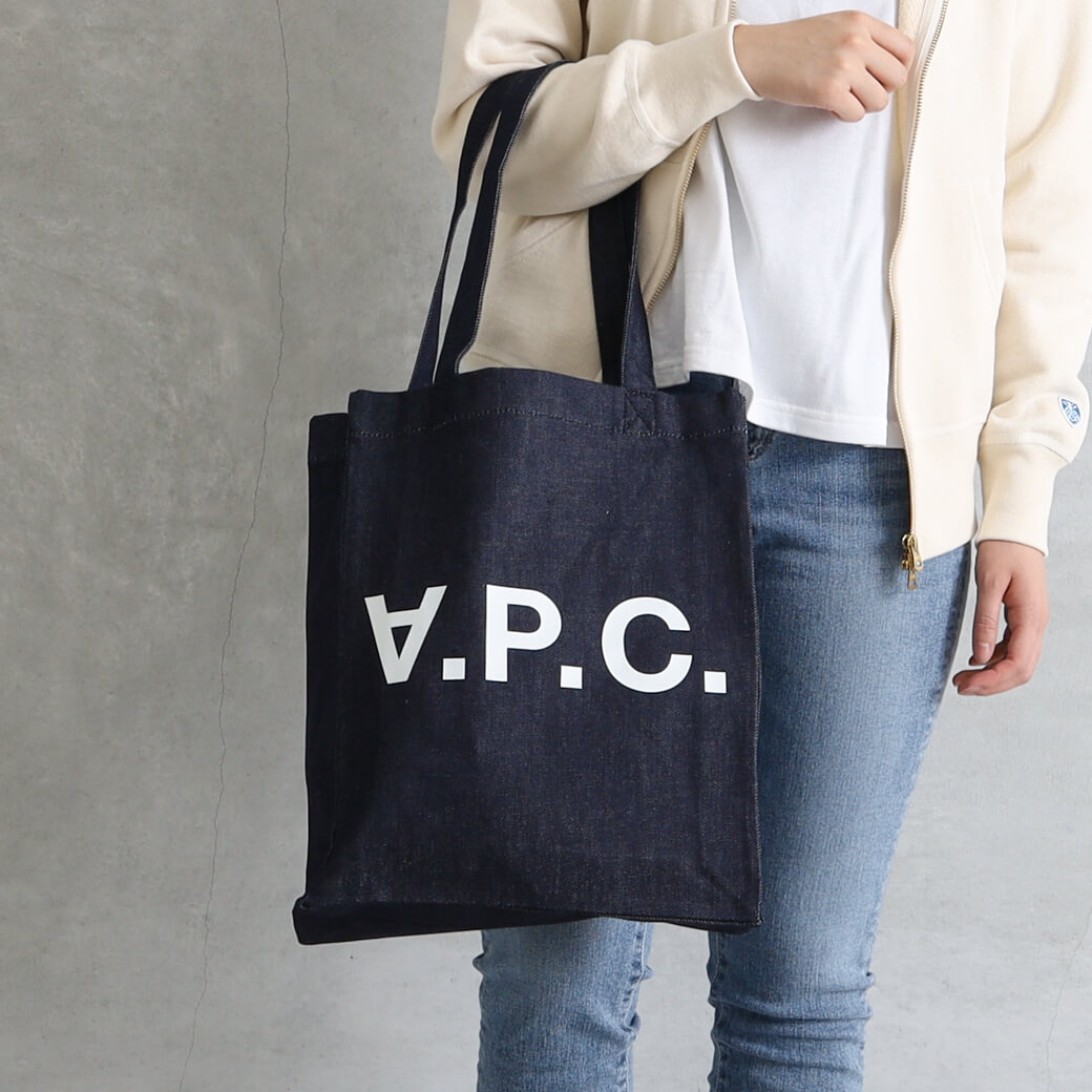 【今だけ10%OFF】A.P.C. アーペーセー Laureトートバッグ