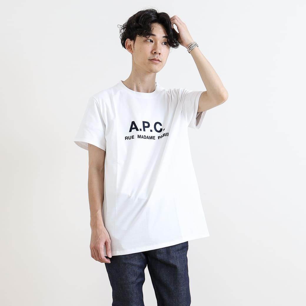 A.P.C. アーペーセー T-SHIRT Rue Madame HOMME JPS マダム通り Tシャツ 25082193301 半袖 メンズ