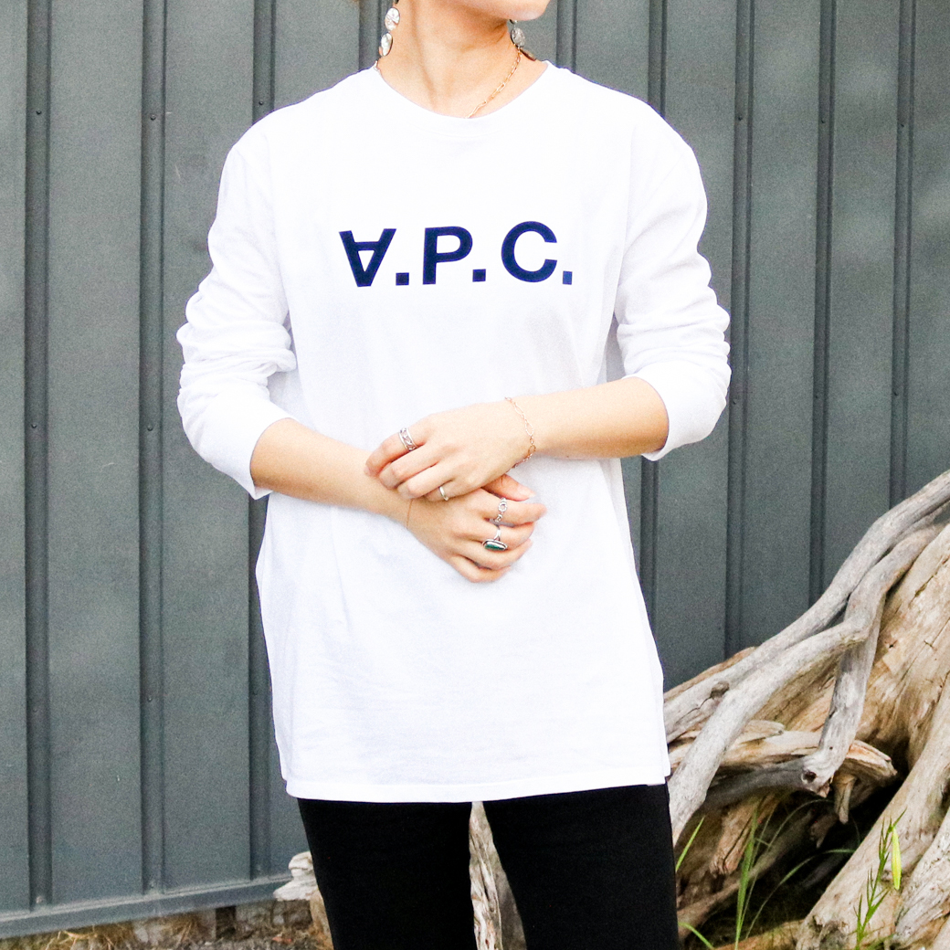 A.P.C. アーペーセー VPC長袖Tシャツ