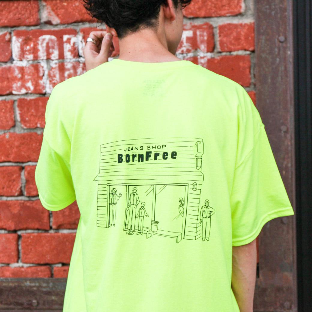 CARAVAN×BORN FREE 別注 Souvenir Tシャツ