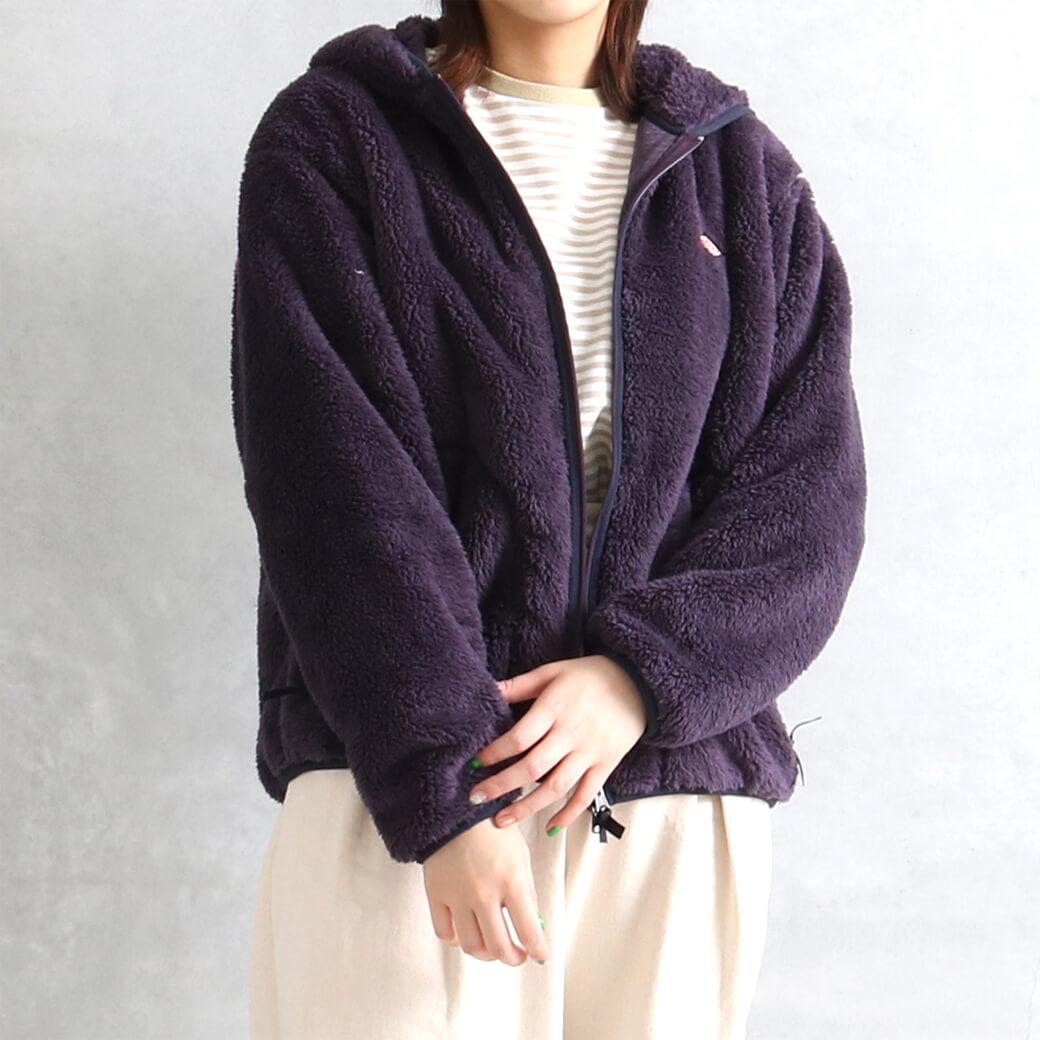 【先行予約】DANTON ダントン ハイパイルフリース フードジップジャケット