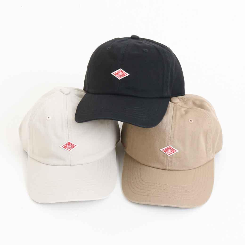 DANTON(ダントン) COTTON TWILL CAP コットンツイルキャップ JD-7144TKC メンズ レディース ユニセックス 帽子