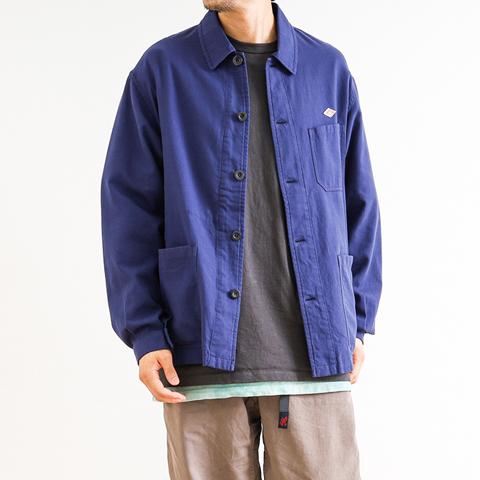 【予約商品】DANTON ダントン VIYELLA COTTON COVERALL JACKET ビエラカバーオールジャケット JD-8002VYL メンズ