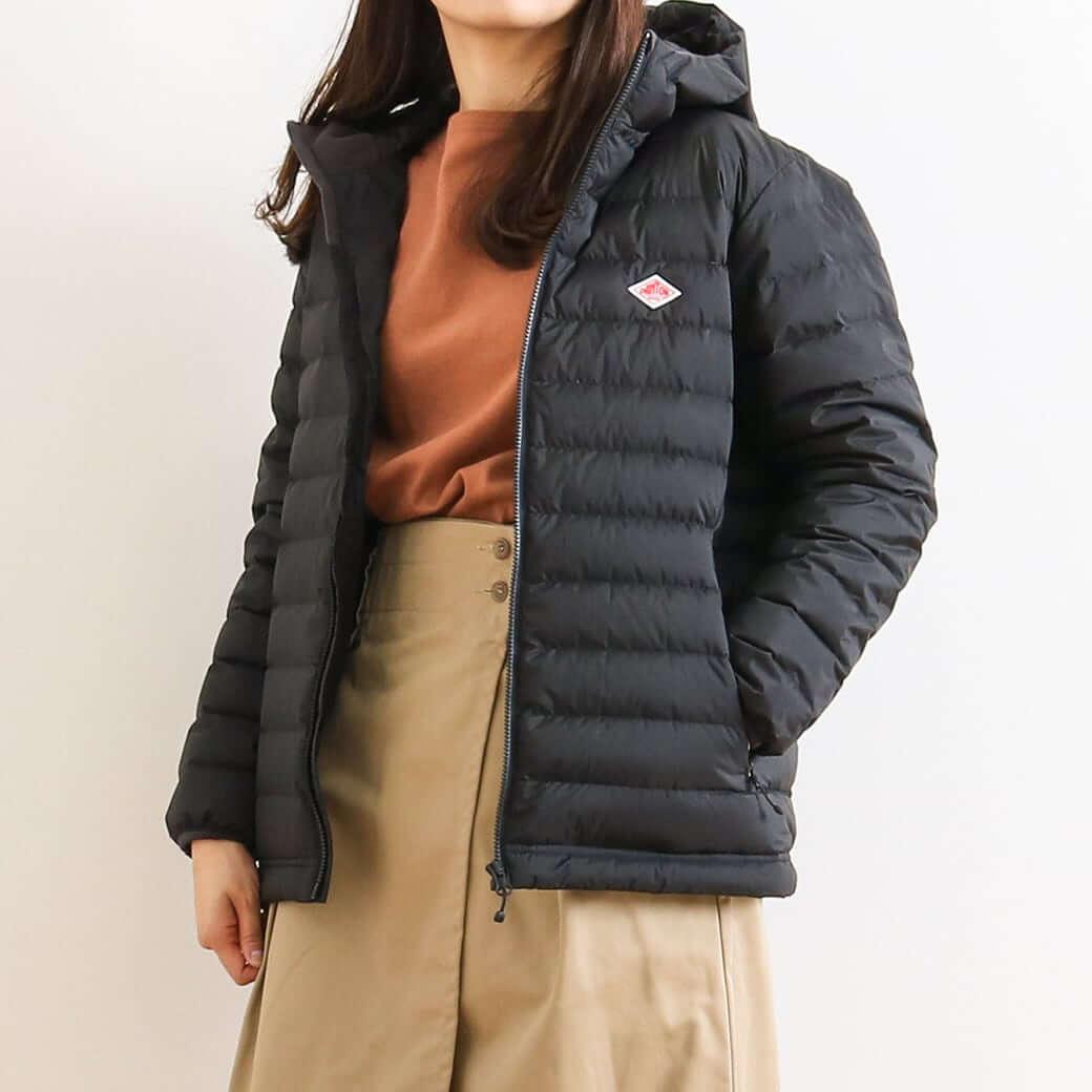 【予約商品】DANTON ダントン フード付きミドルダウンジャケット