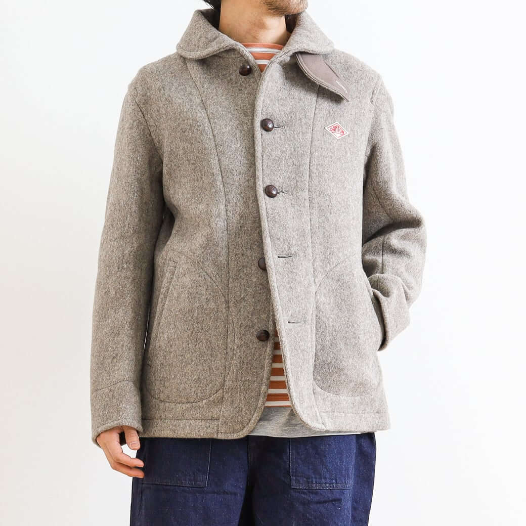 DANTON ダントン WOOL MOSSER SINGLE JACKET JD-8237WOM メンズ