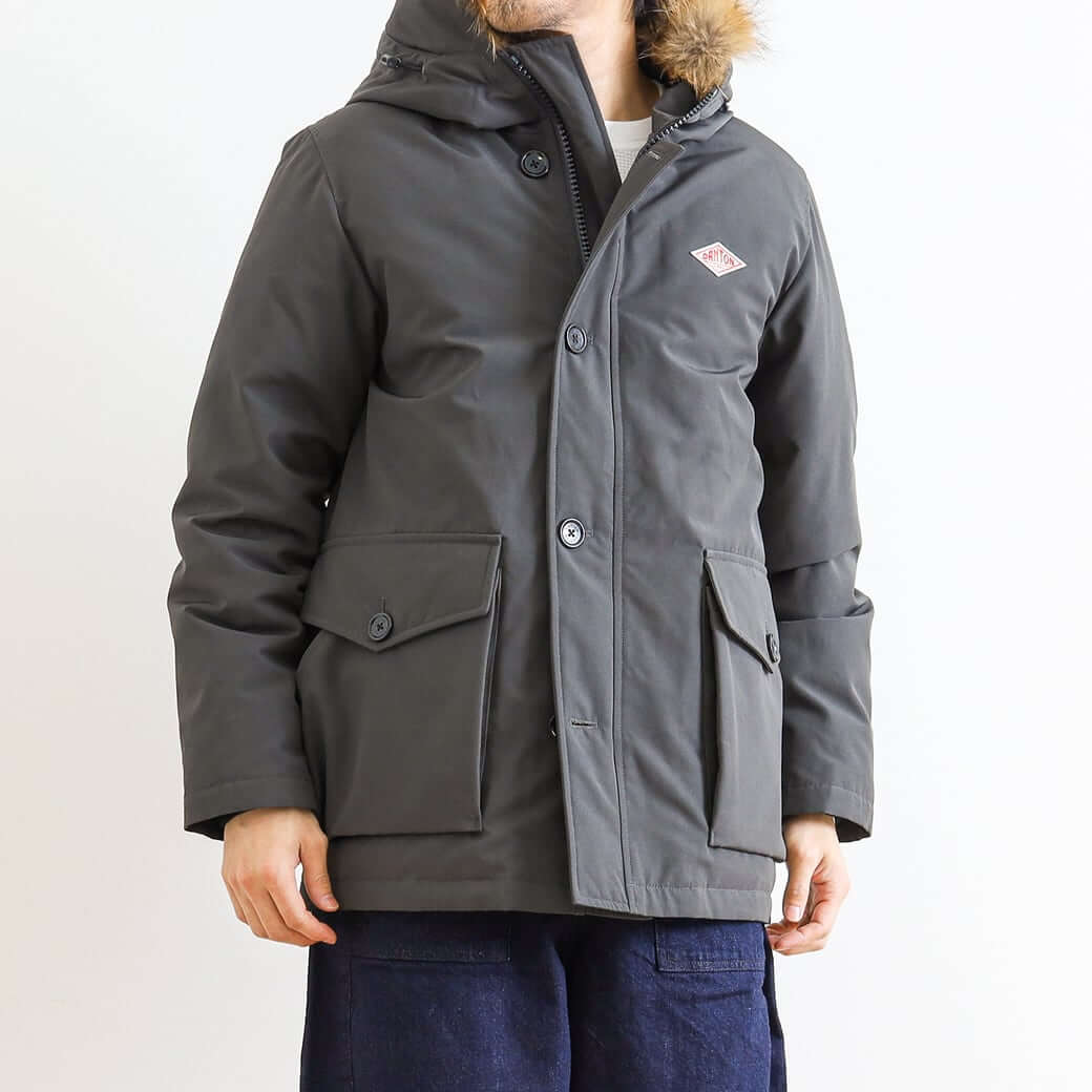 DANTON ダントン TASSAH DOWN JACKET JD-8535LAS メンズ