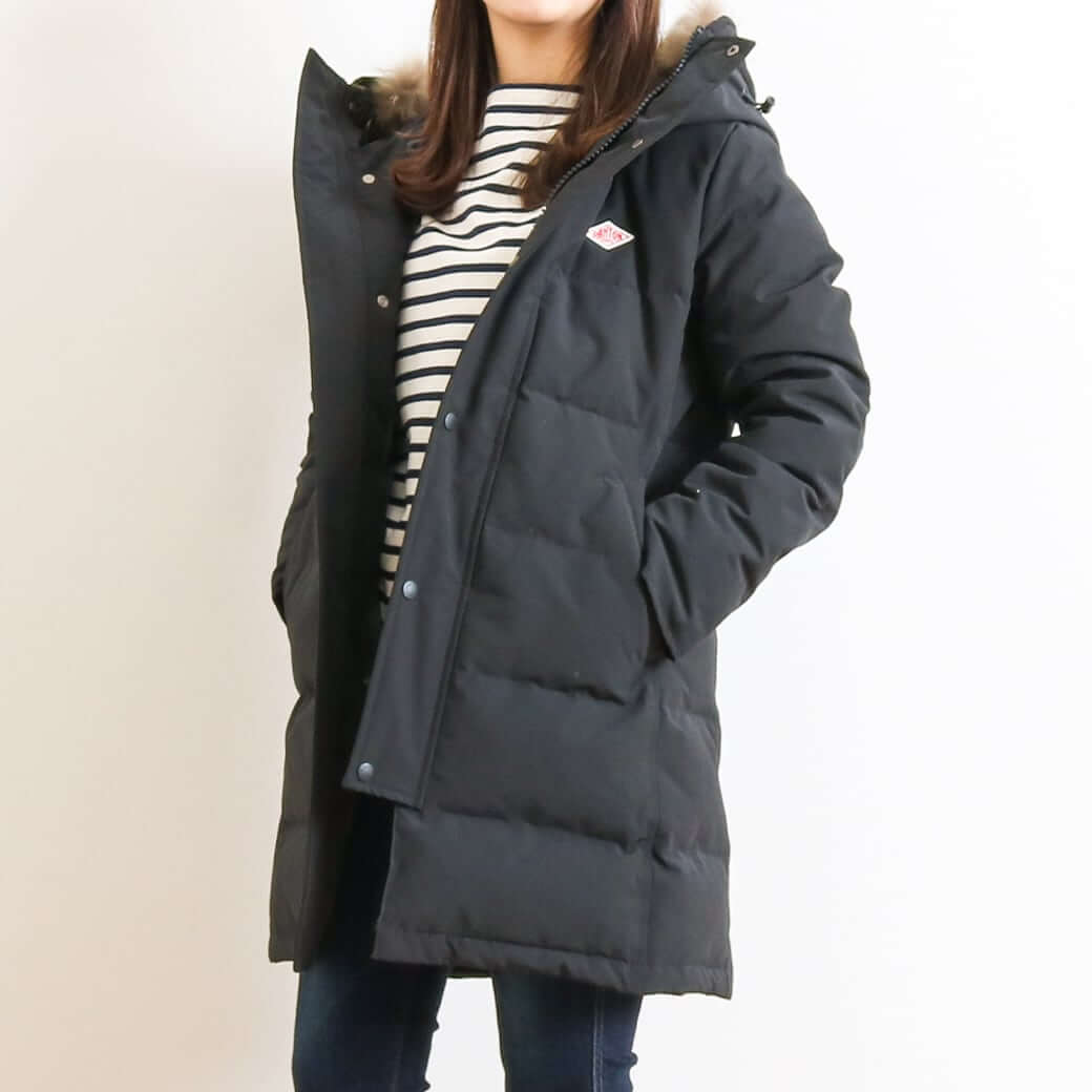 DANTON ダントン TASSAH LONG DOWN JACKET JD-8744LAS レディース