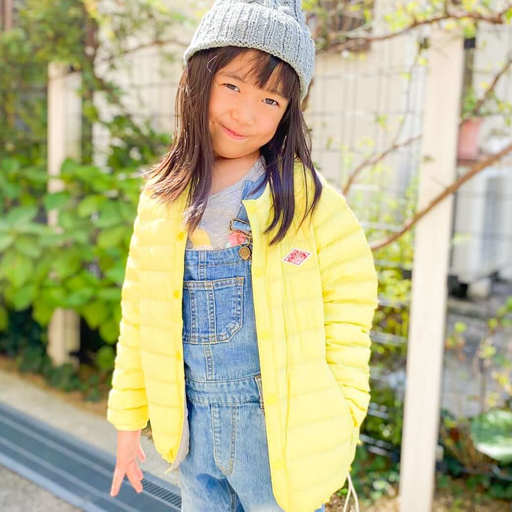 DANTON ダントン KIDS INNER DOWN JACKET JD-8843