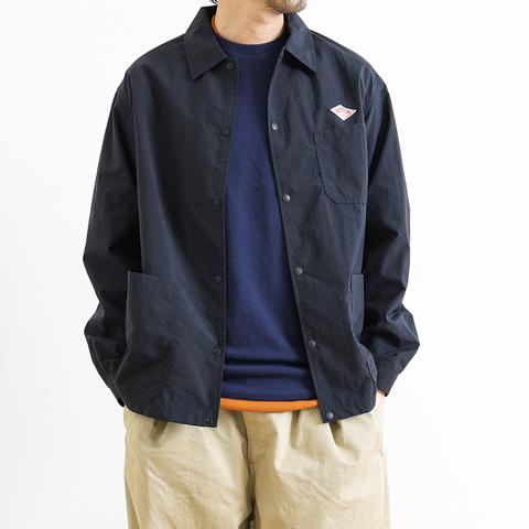 DANTON ダントン ナイロンタフタ カバーオールシャツジャケット JD-8882NTF