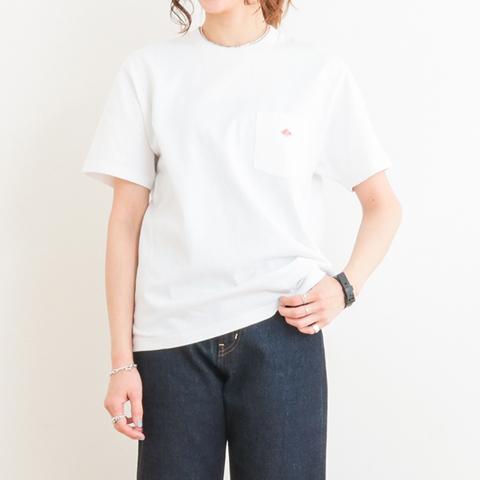 【今だけ10%OFF】DANTON ダントン クルーネック ポケットTシャツ 半袖