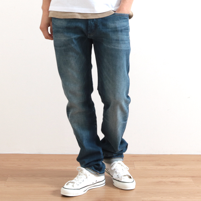 DENHAM(デンハム)RAZOR GRSVS GOLDEN RIVET SUMMER VINTAGE SELVEDGE レイザー  カンディアーニデニム 12.75oz
