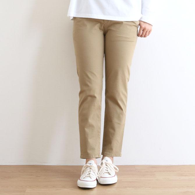 【今だけ10%OFF】レディース D.M.G(ドミンゴ) Relaxing Tapered Pants (リラクシングテーパードパンツ) 13-921T