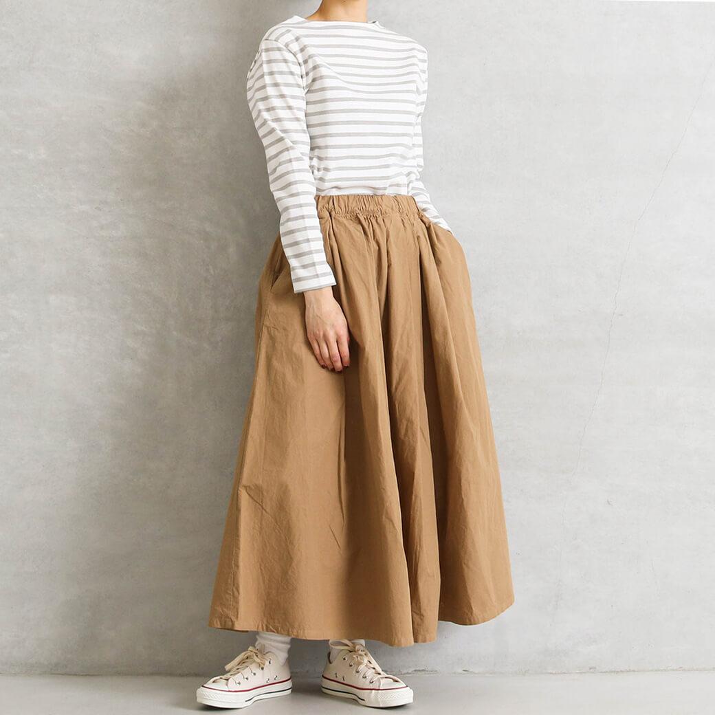 【今だけ10%OFF】D.M.G ドミンゴ マキシ丈スカート