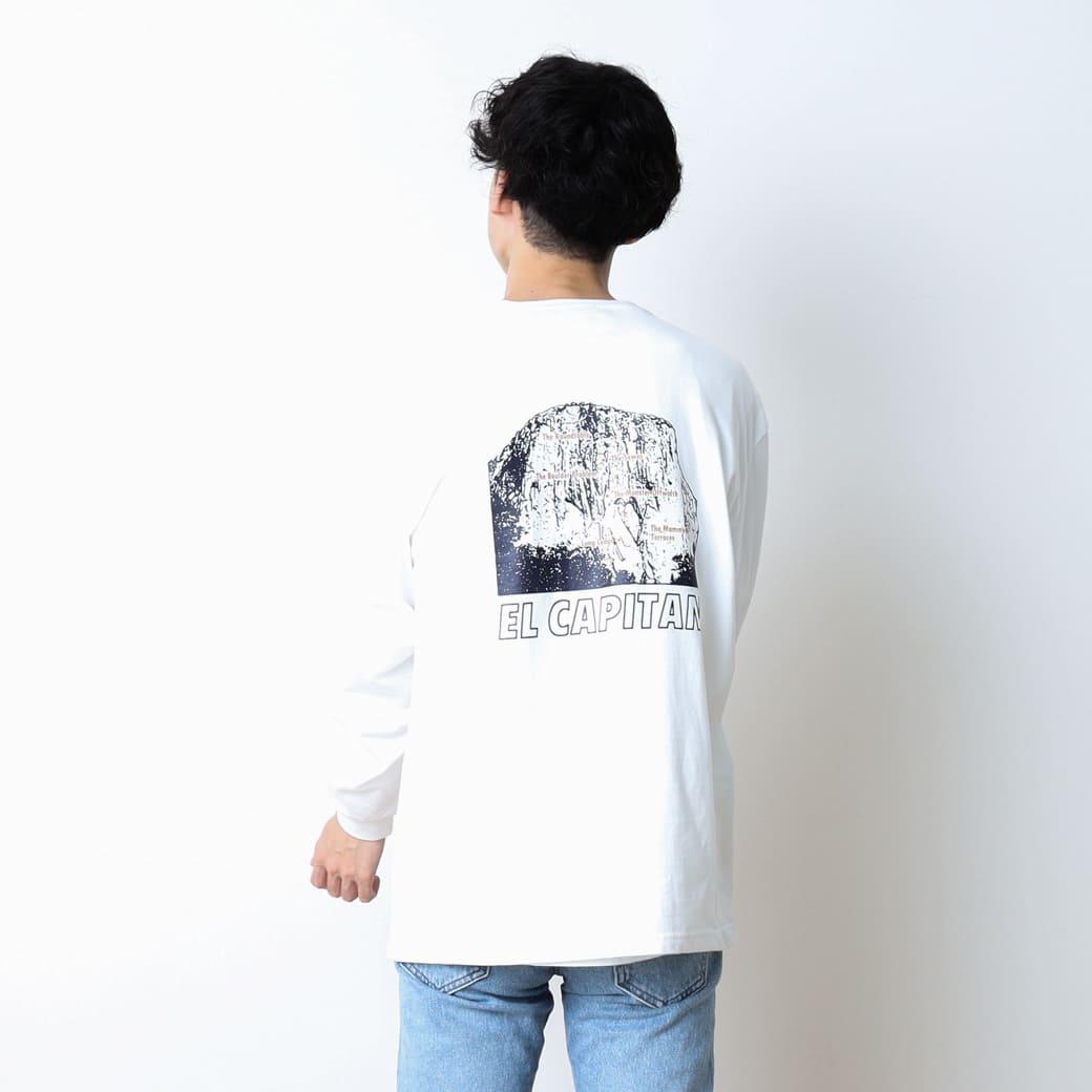 【今だけ10%OFF】GRAMICCI グラミチ EL CAPITAN長袖Tシャツ