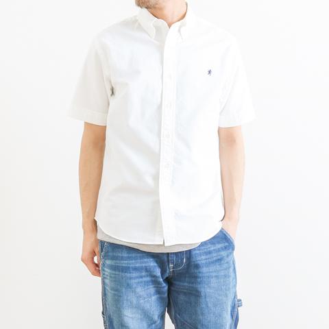 GYMPHLEX ジムフレックス OXFORD S/S BD SHIRT オックスフォードボタンダウンシャツ 半袖 J-0937YOX