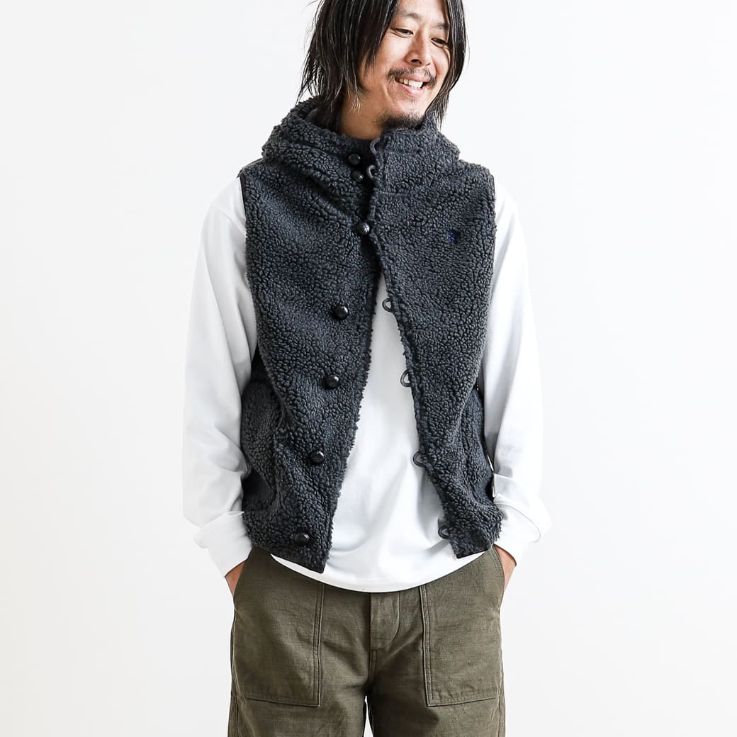 Gymphlex ジムフレックス BUTTON BOA VEST J-1069PL メンズ