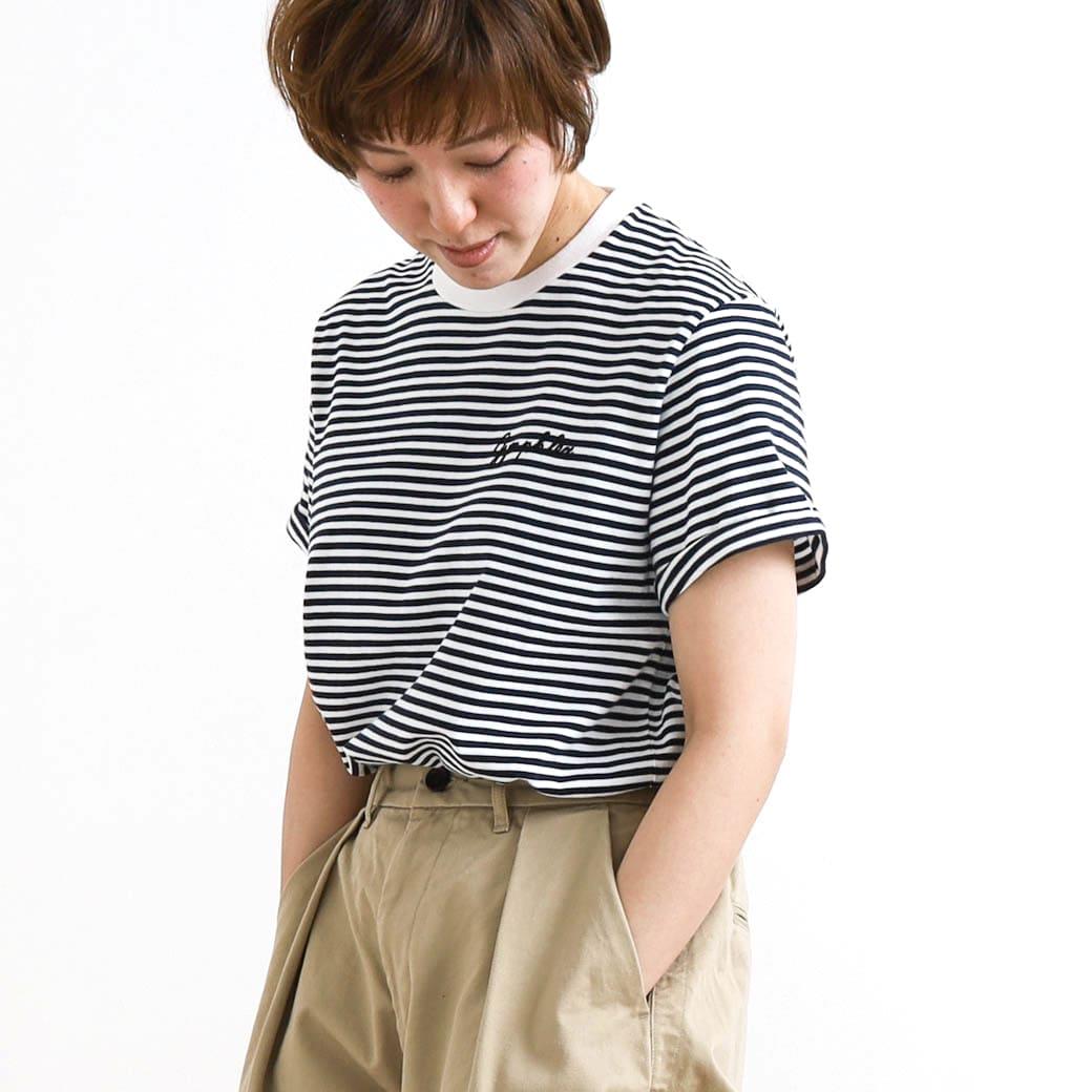 【今だけ10%OFF】Gymphlex ジムフレックス コットンジャージークルーネックTシャツ