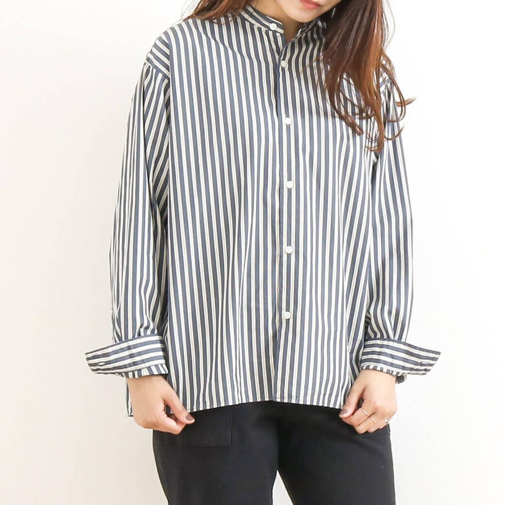 Gymphlex ジムフレックス  バンドカラーシャツ