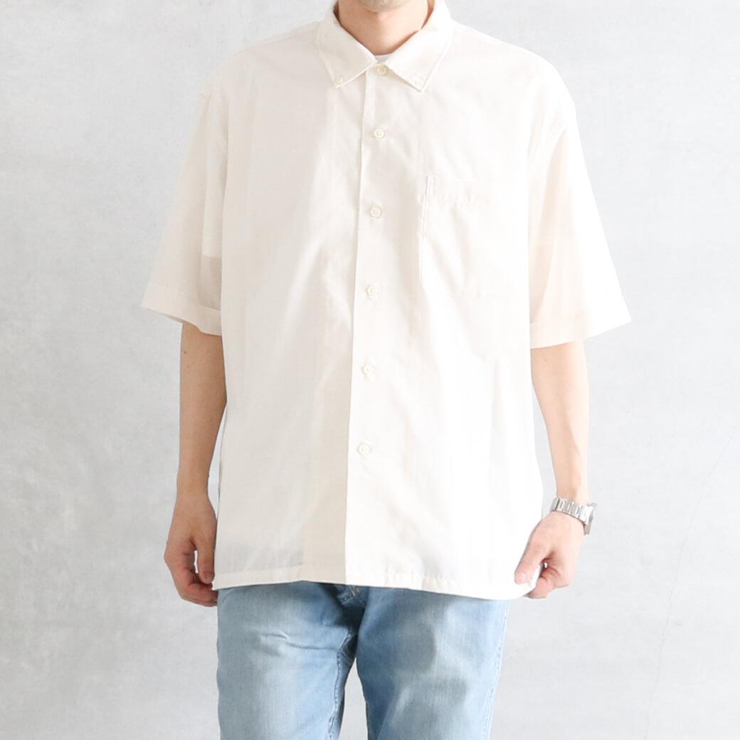 【今だけ10%OFF】Gymphlex ジムフレックス T/C ブロード ボタンダウンシャツ