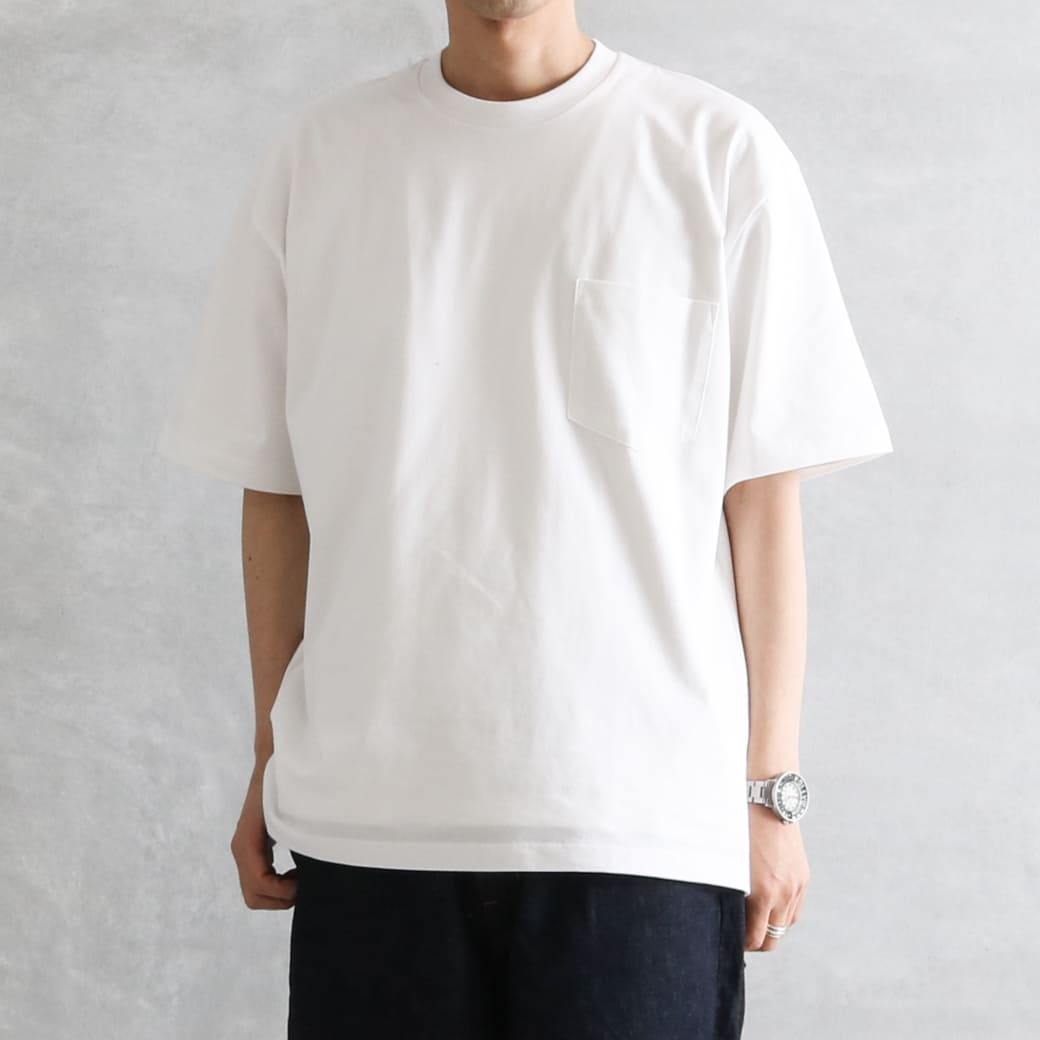 【今だけ10%OFF】handvaerk ハンドバーク ショートスリーブビッグTシャツ