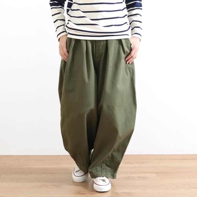 HARVESTY ハーベスティ COTTON CHINO CLOTH CIRCUS PANTS コットン チノクロス サーカスパンツ A11709 5色展開