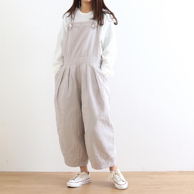 【今だけ10%OFF】HARVESTY(ハーベスティ) CIRCUS SALOPETTE DOUBLE CLOTH 二重織りツイル サーカスサロペット A12006 レディース