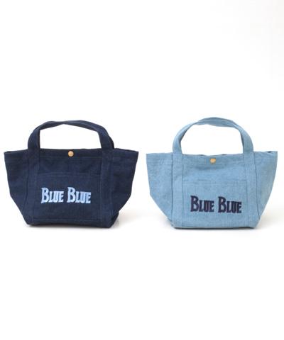 【今だけ10%OFF】BLUE BLUE ブルーブルー アンカーデニムバッグ(S) 700056892