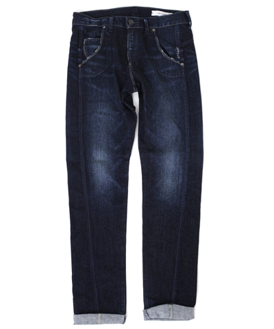 "Antgauge/アントゲージ ""Lily"" STRECH DENIM BOYS TAPERED C1321-35/MID BLUE"