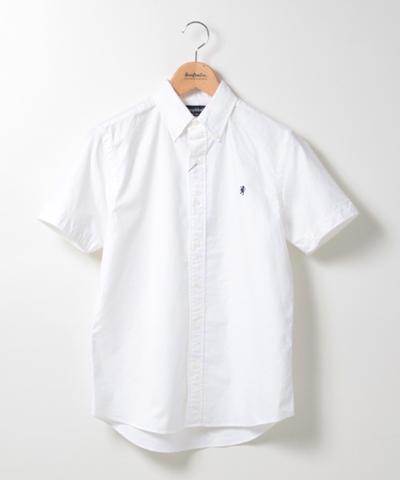 メンズ Gymphlex ジムフレックス オックスフォードS/S BDシャツ J-0937YOX