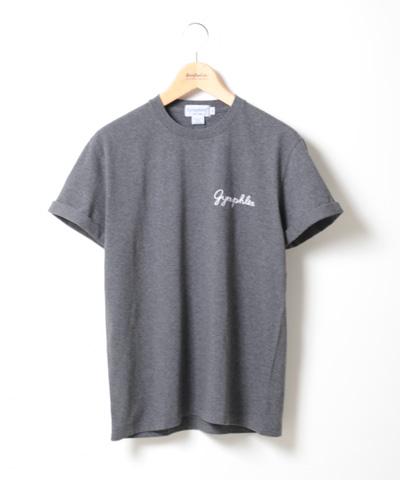 メンズ Gymphlex ジムフレックス ロゴ刺繍ロールアップTシャツ J-1155CH