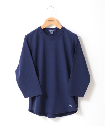 Gymphlex 七分袖 刺繍入り ラグランTシャツ J-1241 レディース