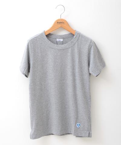 ORCIVAL オーシバル 無地 天竺コットン半袖Tシャツ RC-6919