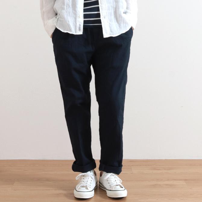 メンズ Johnbull ジョンブル Cotton Linen Easy Pants コットンリネンイージーパンツ 21166