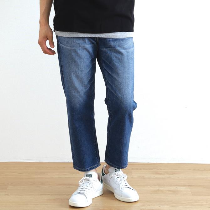 Johnbull(ジョンブル) Easy Denim Jeans イージージーンズ インディゴブルー 21311-15 メンズ