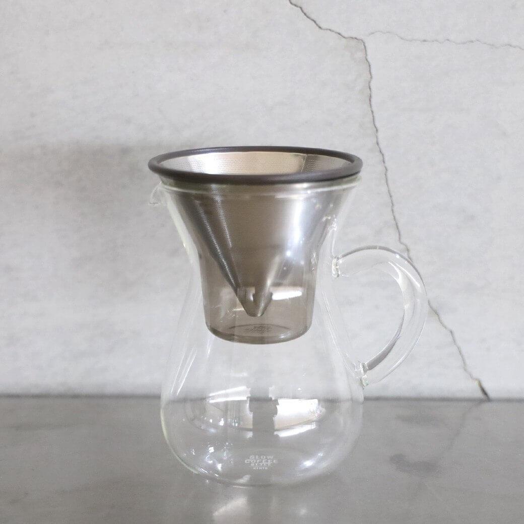 【今だけ10%OFF】KINTO キントー スローコーヒースタイル コーヒーカラフェセット 300ml 2cup