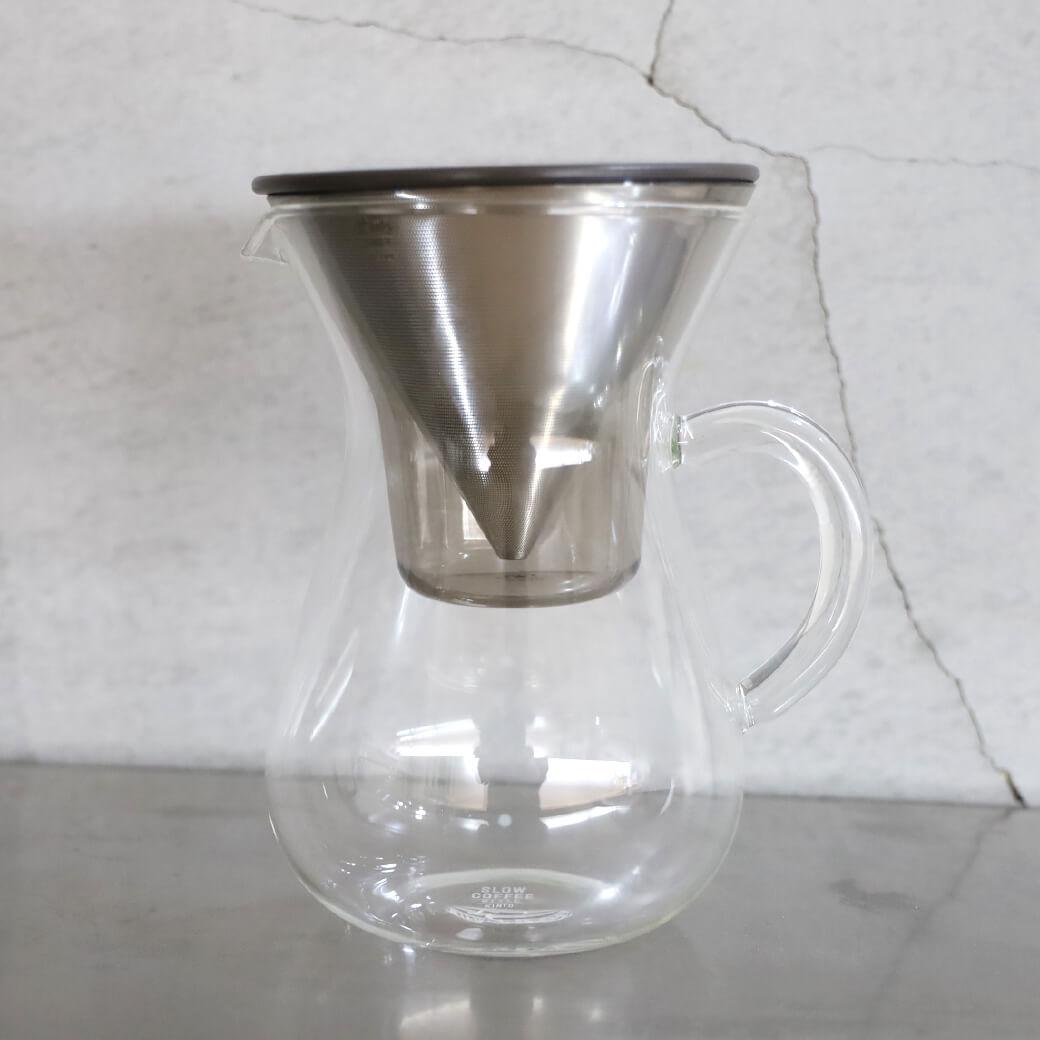 【今だけ10%OFF】KINTO キントー スローコーヒースタイル コーヒーカラフェセット 600ml 4cup
