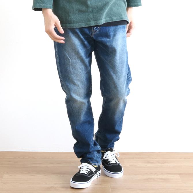 KURO(クロ) GIOCATORE TAPERED JEANS ジョカトーレ テーパードジーンズ VINTAGE WASH 001 ヴィンテージウォッシュ 961851 メンズ