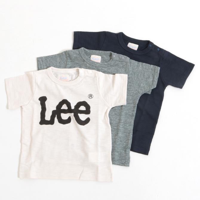 Lee リー BIGロゴ スラブ天竺 半袖プリントTシャツ LK0407 キッズ 子供服