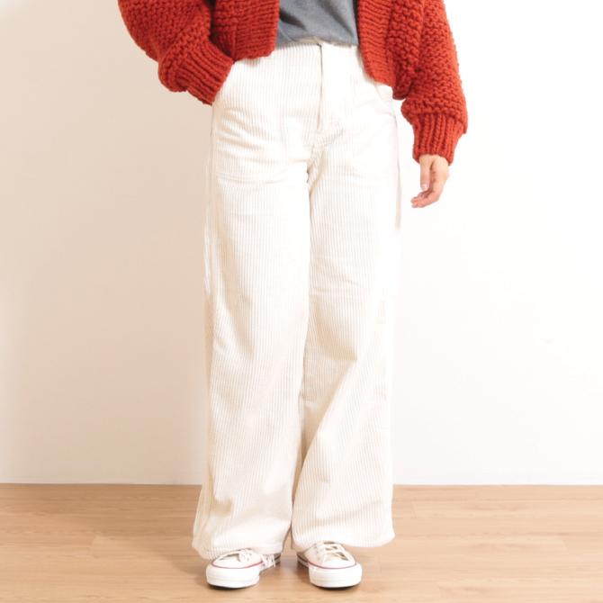 【今だけ10%OFF】Lee(リー) HIGH WAIST CORDUROY WORK PANTS LL6013 レディース 送料無料