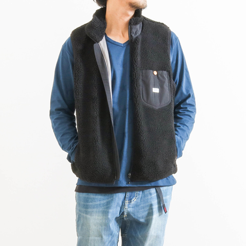 Lee リー Boa Fleece Vest LT5028