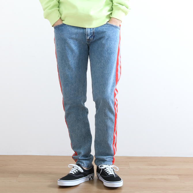 Levi's(リーバイス) 512 SLIM TAPERED JEANS REFLECT ACID WARP1507 28833-0306 メンズ デニム