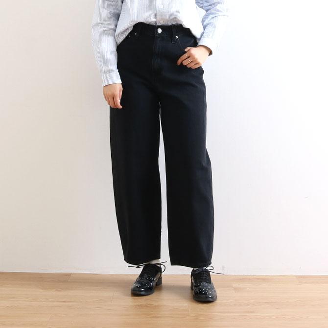 【今だけ10%OFF】Levi's リーバイス BALLOON LEG BLACK BOOK バルーンレッグ  85314-0000 レディース デニム